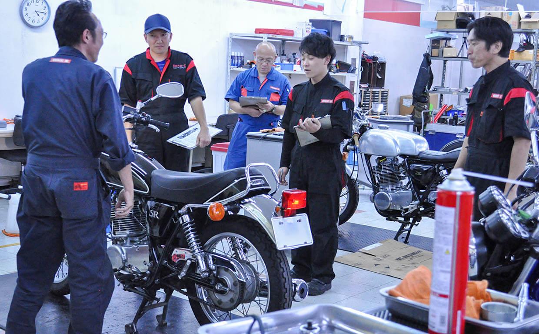 バイク整備士(新卒採用)